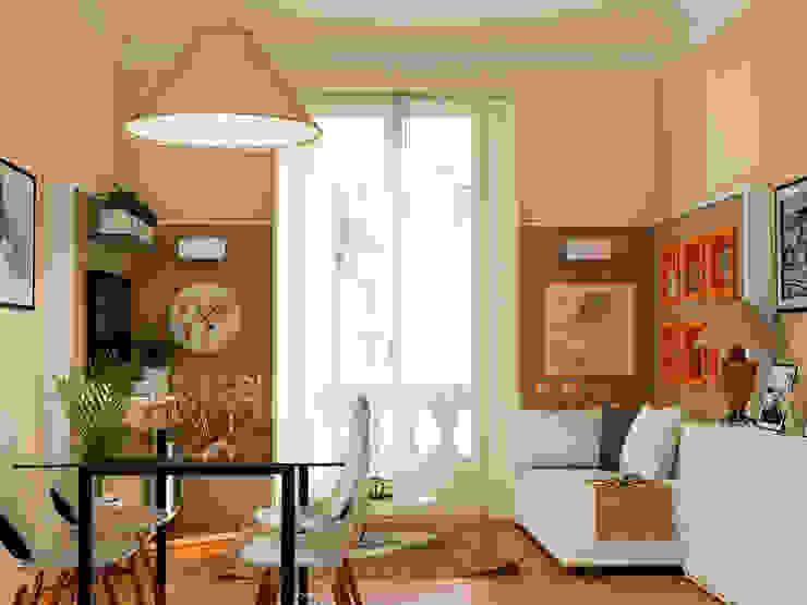 Fanchini Roberto architetto - Archifaro Livings de estilo clásico