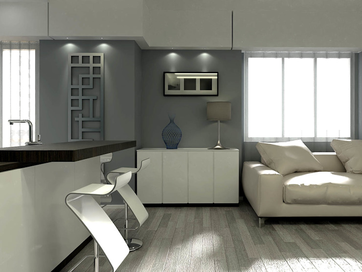 Fanchini Roberto architetto - Archifaro Modern Living Room