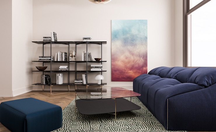 Apartment Rotterdam Inside Creations Minimalistische woonkamers