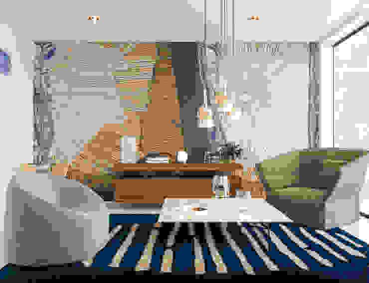 Relaxing living room Inside Creations Minimalistische woonkamers