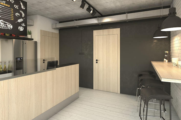 InPortas Office spaces & stores Wood Beige