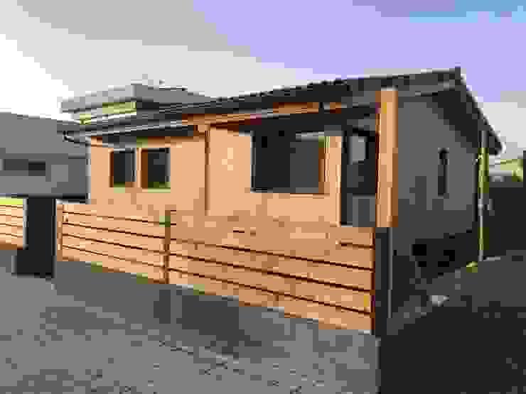 Oscar Y Georgia by ERGIO Wooden Houses Modern Wood Wood effect