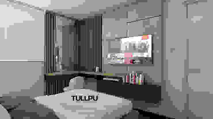 Tullpu Diseño & Arquitectura Modern Bedroom Brown