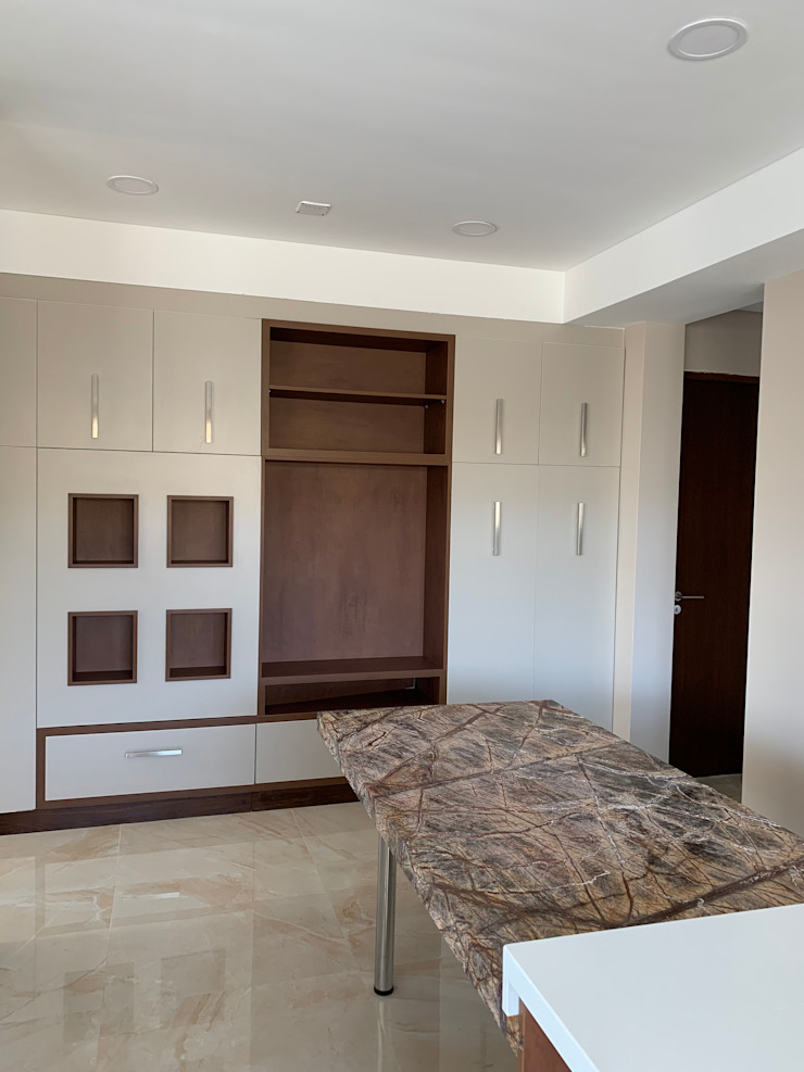 MABEL ABASOLO ARQUITECTURA Built-in kitchens Engineered Wood