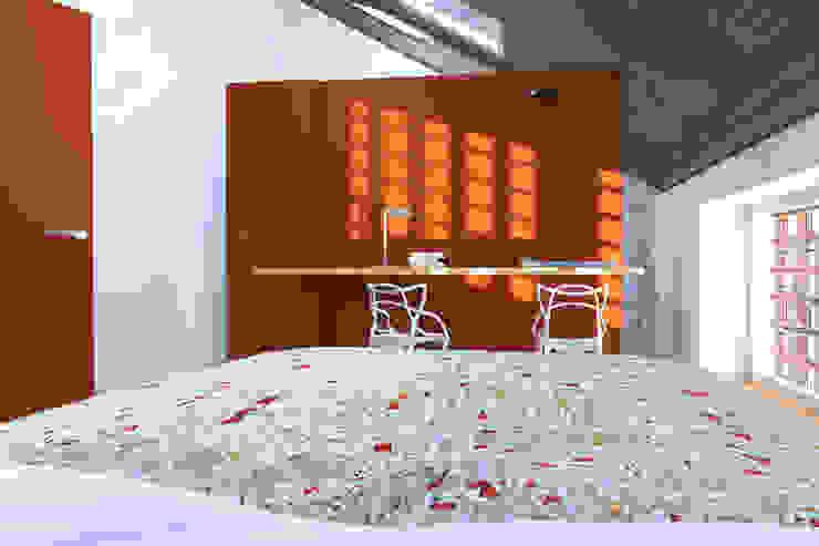 La Master bedroom annacarla secchi architetto Camera da letto moderna