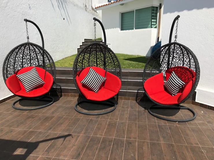 Cojines Para Exterior Persianas Natelli Jardines minimalistas