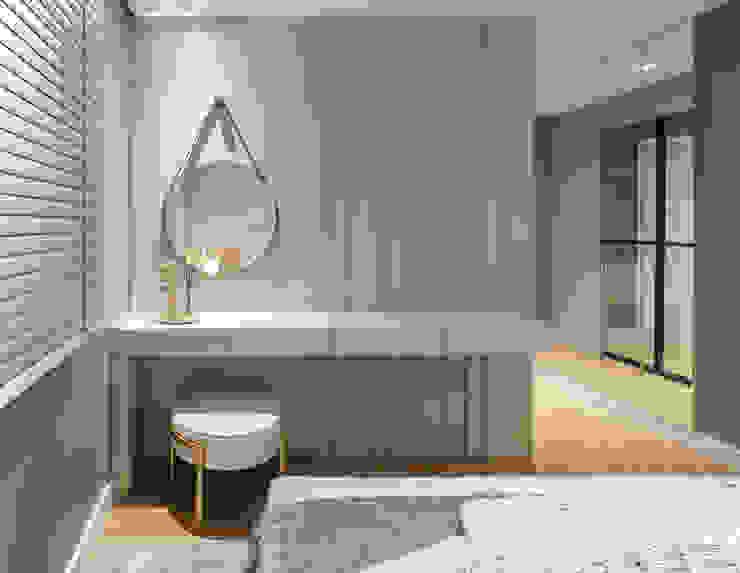 Chris Guarese Modern Yatak Odası Gri