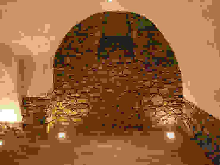 Spotlights Antik-Stein Rustikale Gastronomie