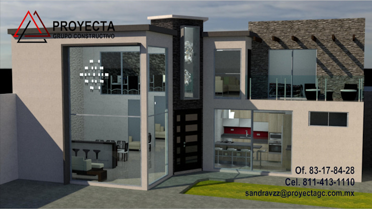 PROYECTA Grupo Constructivo 獨棟房 石器 Grey
