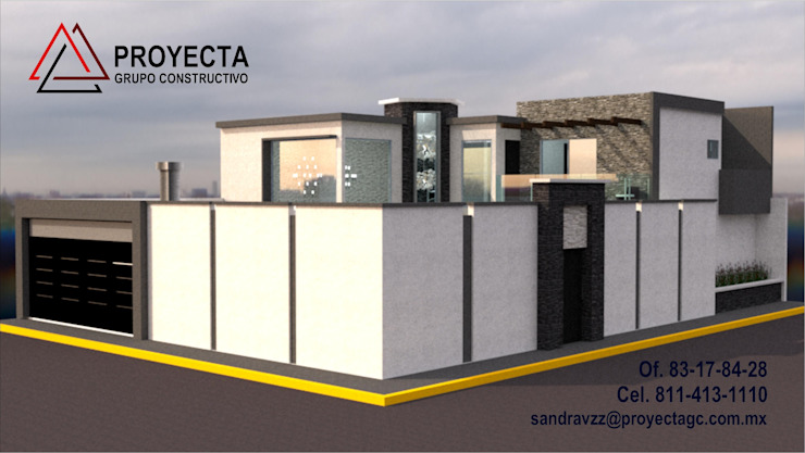 PROYECTA Grupo Constructivo 獨棟房 石器 White