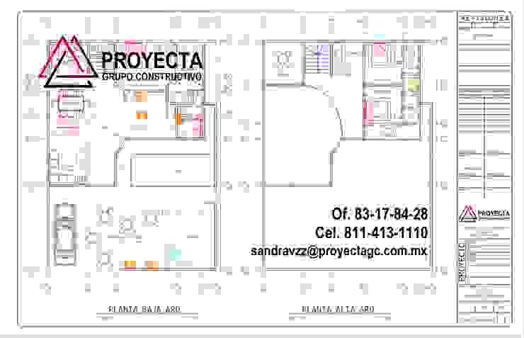 PROYECTA Grupo Constructivo 獨棟房 強化水泥 White