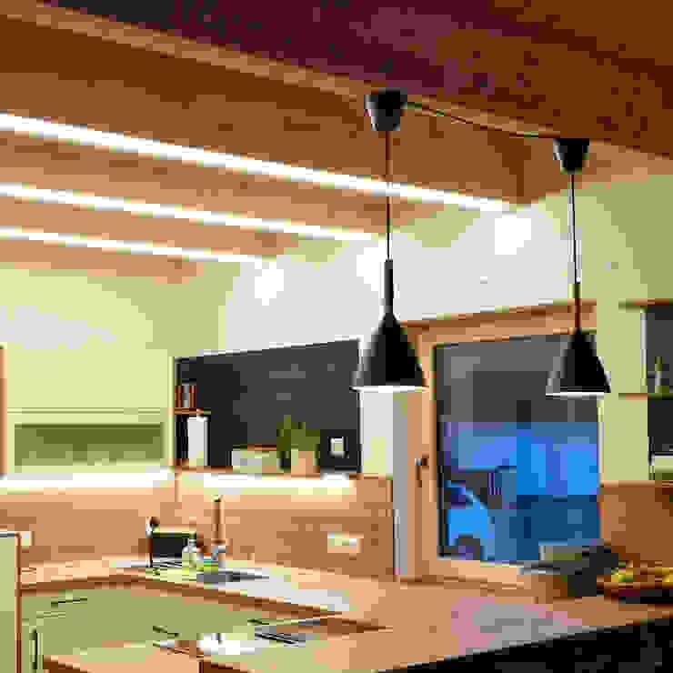 Pendelleuchten über der Küchentheke von Skapetze Lichtmacher Skandinavisch Metall