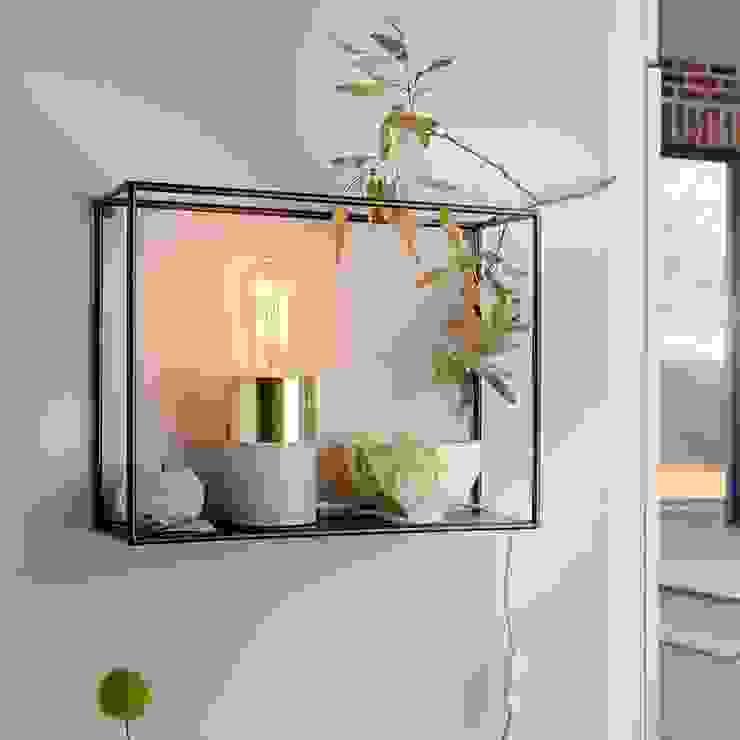 Tischleuchten als dekorativer Blickfang: industriell  von Skapetze Lichtmacher,Industrial Beton