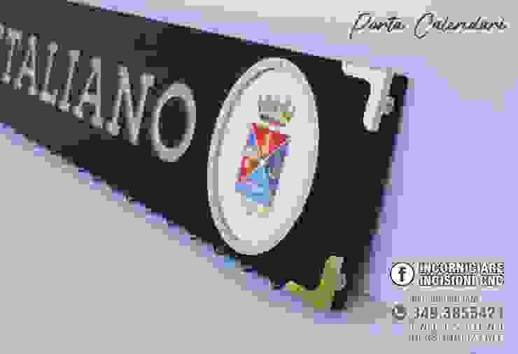 PORTA CALENDARI ESERCITO ITALIANO di INCORNICIARE Classico Legno massello Variopinto
