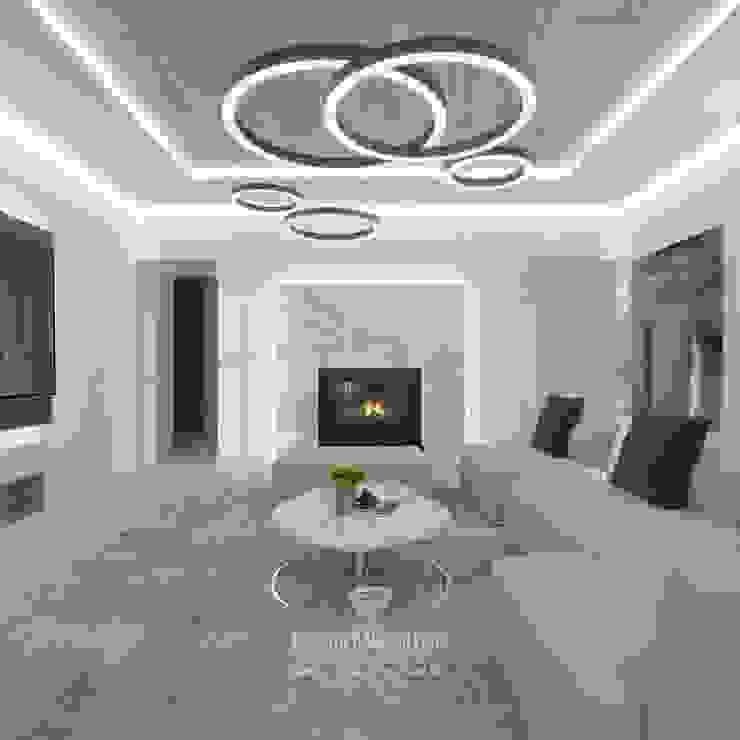 Студия дизайна интерьера Руслана и Марии Грин Livings de estilo ecléctico