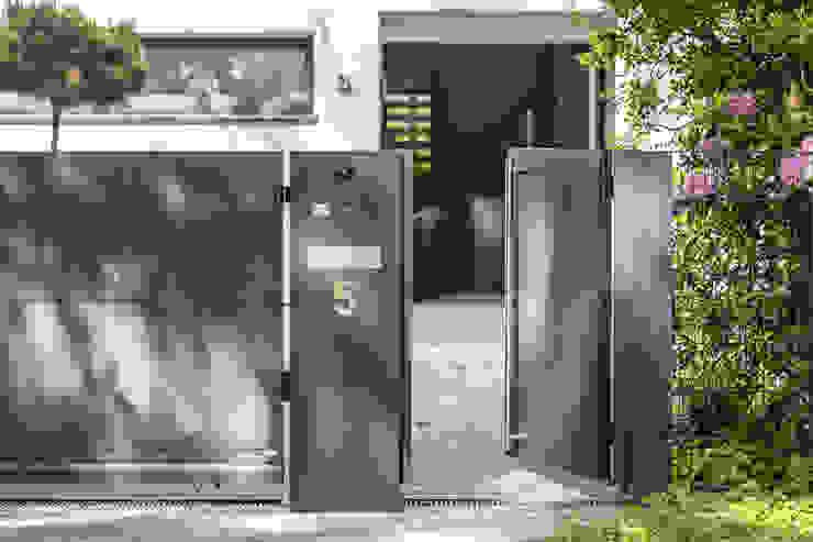 Nordzaun Halaman depan Aluminium/Seng Grey