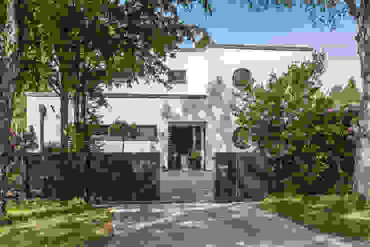 Nordzaun Taman Modern Aluminium/Seng Grey