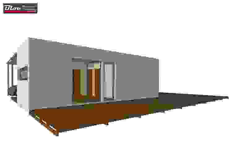 Casas modulares - Modelo BLOC Linea T2 - 54 m2 BLOC - Casas Modulares Casas pequenas