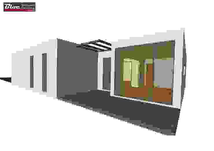 BLOC Linea T2 Area 72m2 (76m2-bruta) BLOC - Casas Modulares Casas pequenas