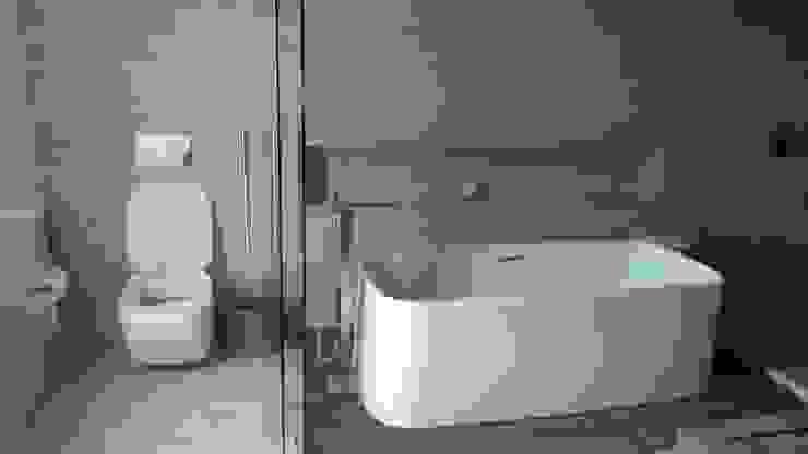 Mármoles Aguilar Casas de banho minimalistas Mármore Amarelo