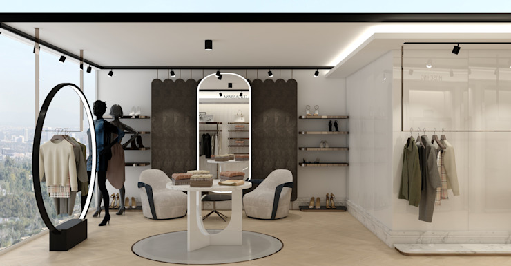 WALL INTERIOR DESIGN Modern offices & stores