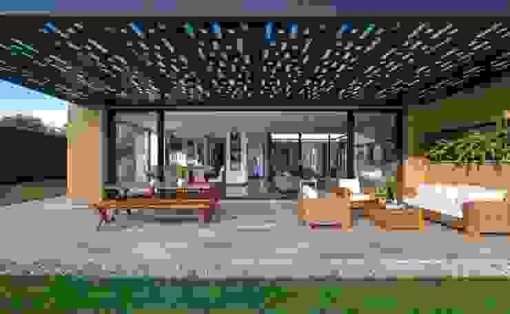 David Macias Arquitectura & Urbanismo ระเบียง, นอกชาน ไม้