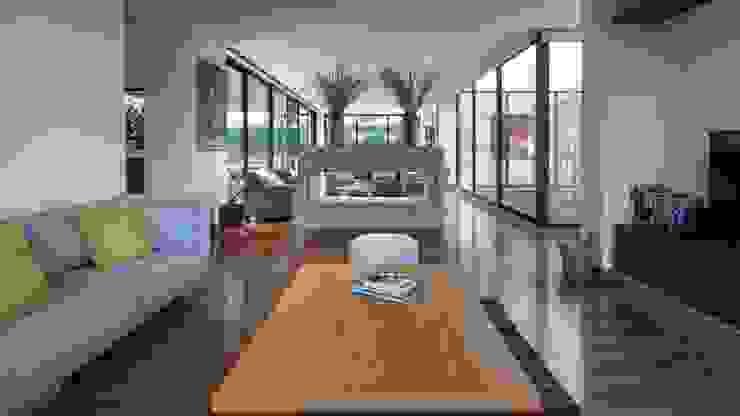 by David Macias Arquitectura & Urbanismo Minimalist Wood Wood effect