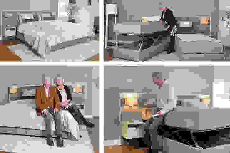 Seniorenbed Moderne slaapkamers van De Suite Modern