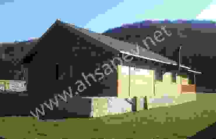 AHSAP EV - BEYKOZ - 120 m2 SİSNELİ AHŞAP EV - AĞAÇ EV - KÜTÜK EV - BUNGALOV -KAMELYA Country style house