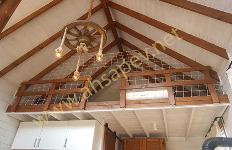 AHSAP EV—ADAPAZARI—38 m2 SİSNELİ AHŞAP EV - AĞAÇ EV - KÜTÜK EV - BUNGALOV -KAMELYA Living room