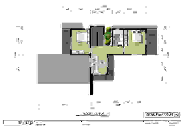 주택 2층 평면도 디자인 이업