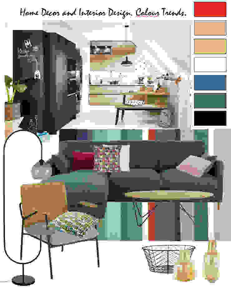 Wohnküche/Homestyling NK-Line Moderne Wohnzimmer