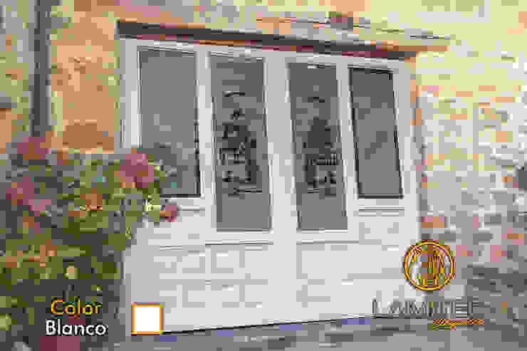 Lamitec SA de CV Front doors Metal White