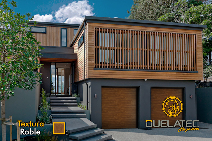 Lamitec SA de CV Sliding doors Metal Wood effect