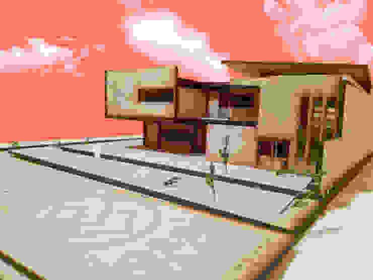 Maqueta volumetrica OCARÁ Arquitectura + Galería Casas minimalistas