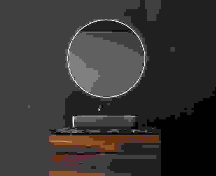 SIRO - LUZ LED PERIMETRAL Xpertials SL Baños de estilo moderno Vidrio