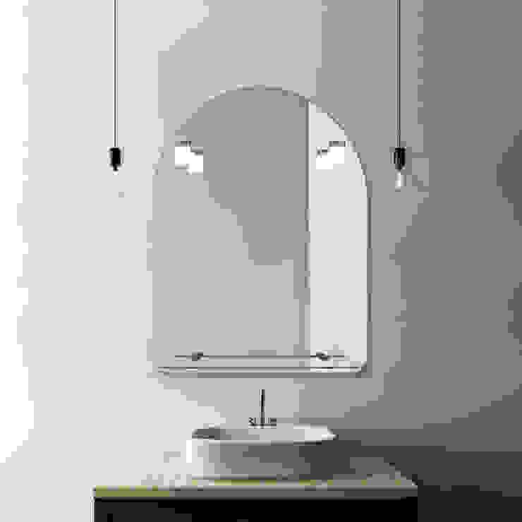 VENEZIA 60X75 CM FOCO CROMO LED Xpertials SL Baños de estilo clásico Vidrio