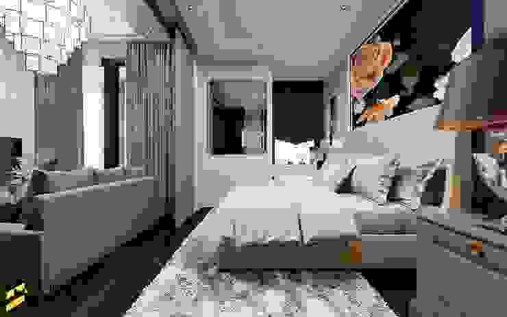 I DEO Q สยาม-ราชเทวี Bcon Interior ห้องนอน