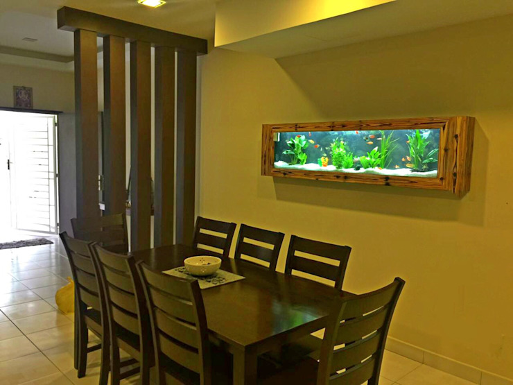 Wooden Frame—Residential Seazone Dining roomAccessories & decoration