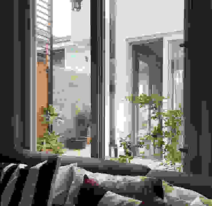 Modern Villa, Cainta Rizal OASIS Design Studio Living room