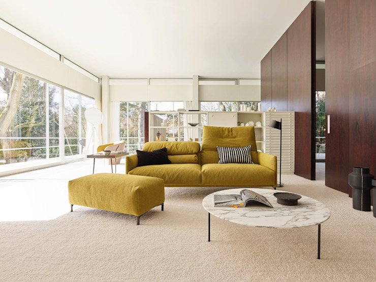 ​COR Sitzmöbel Helmut Lübke GmbH & Co. KG Living roomSofas & armchairs Yellow