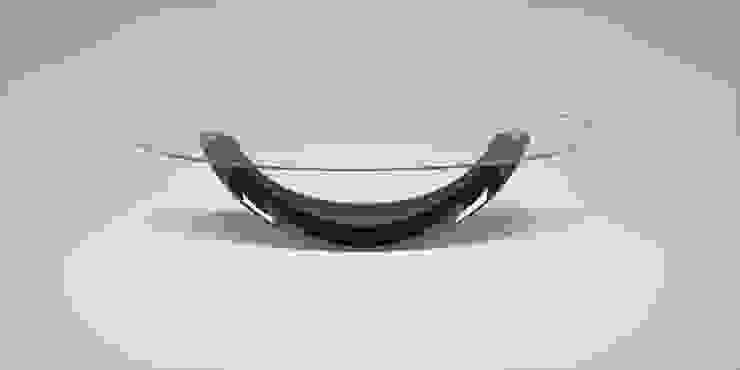 DABLEC di Tiziano Moletta Living roomSide tables & trays Glass Black