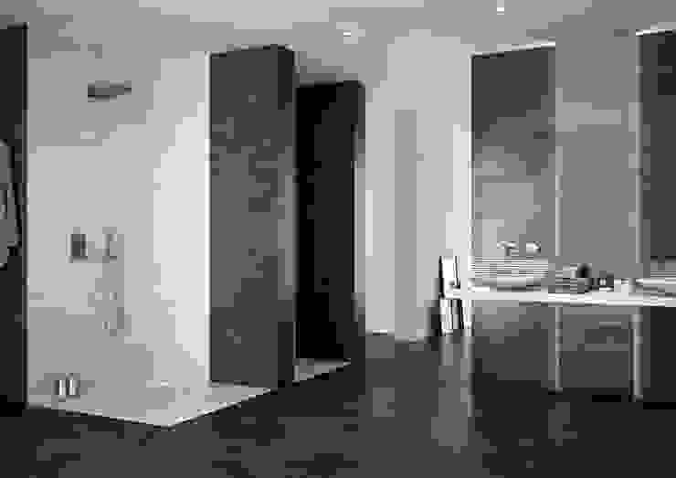 Mathasa Modern bathroom Ceramic Grey