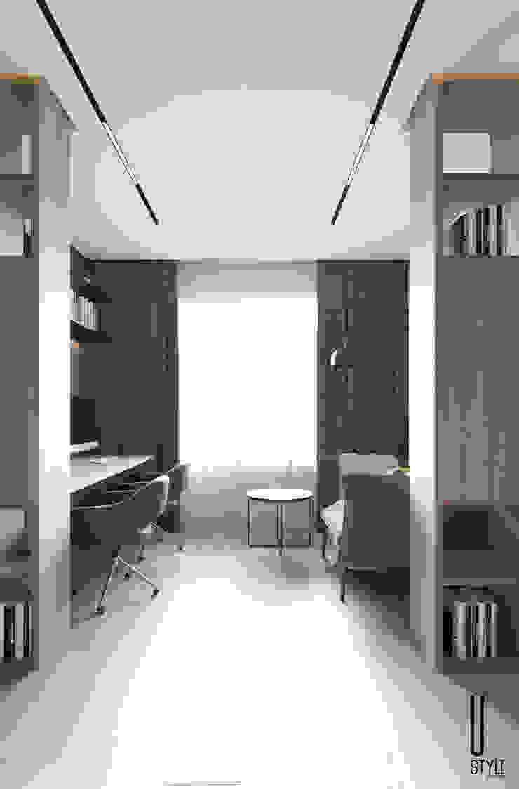 YOUSUPOVA Oficinas de estilo minimalista