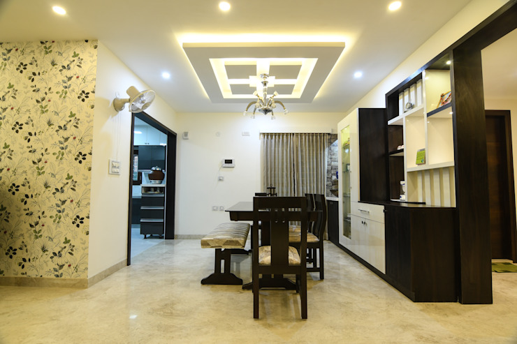 14 Modern dining room by Magnon India Modern