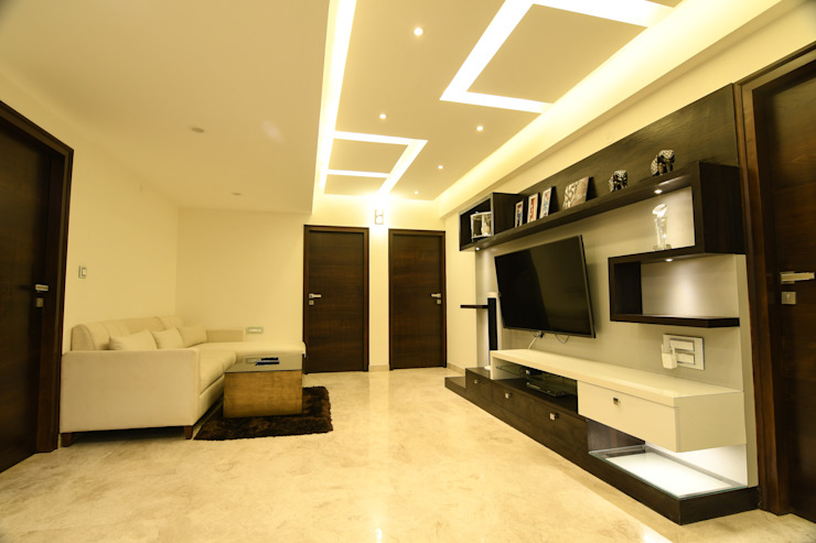 16 Modern living room by Magnon India Modern
