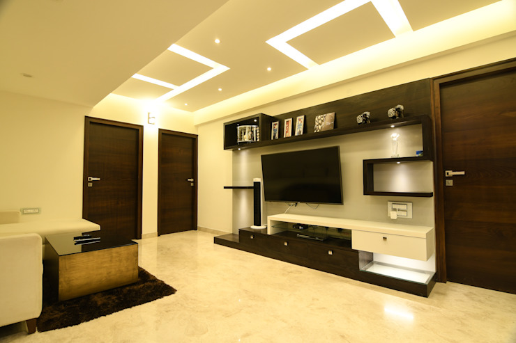 17 Modern living room by Magnon India Modern
