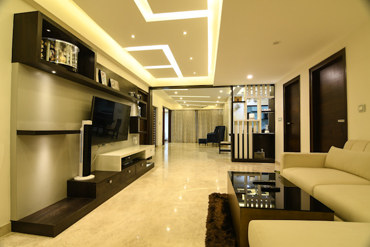 20 Modern living room by Magnon India Modern
