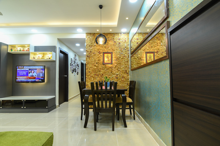 22 Modern dining room by Magnon India Modern