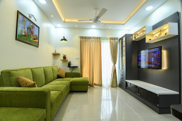 24 Modern living room by Magnon India Modern
